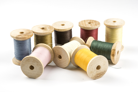 Threads in Several colors on spools