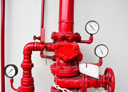 pumper: pumping and valve controls on a pumper firetruck.