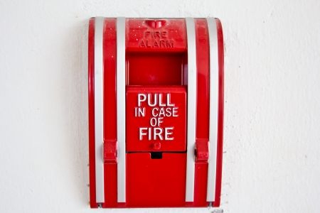 call bell: pull in case of fire