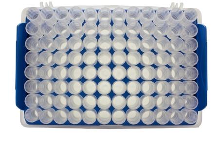 micropipette: close up micropipette containers