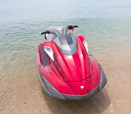 jetski: Jet ski on Paradise Island