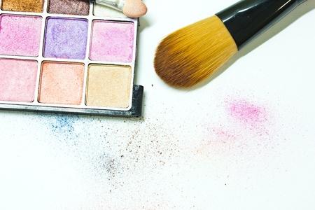 Colagem Make-up Banco de Imagens