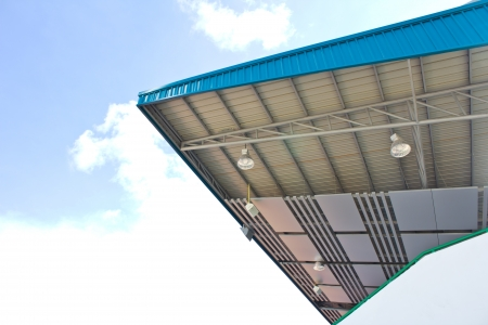 The roof of stadium photo