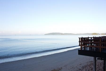 Top view beach at ao nang in the morning Stock Photo - 16577645