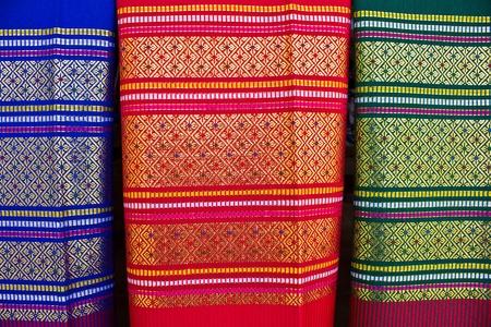 fabric silk thai photo