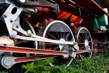 Wheels of the train Stock Photo - 17273107