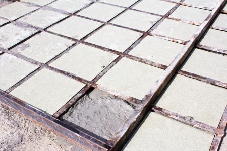 Tiles floor installation ceramic  photo