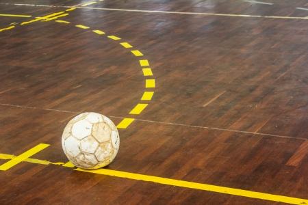 old futsal court indoor sport stadium