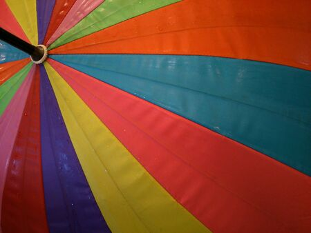 creative: Close up colorful umbrella