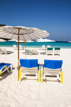 Beautiful beach at raya island, Phuket, Thailand photo