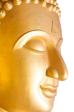 Close up of big buddha statue photo
