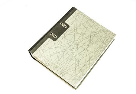 tabulate: file folder isolated on white background