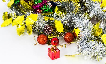 Close up Christmas decoration photo