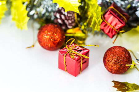 Close up Christmas decoration photo