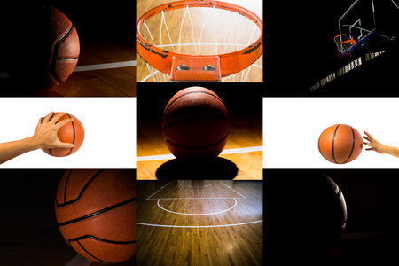 basketball sport in the gym photo