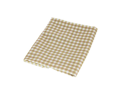 Handkerchief isolated on the white background