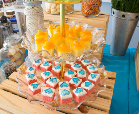 fancy cake: fancy cake Stock Photo