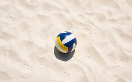 해변에서 배구