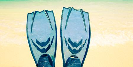 snorkelling: Snorkelling on siam bay PhuketThailand Stock Photo