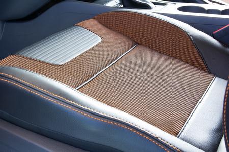car seat: close up car seat