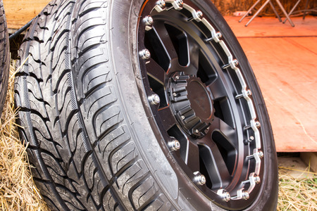 alloy: close up alloy wheels