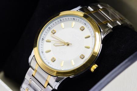 luxury watch: luxury watch on a box