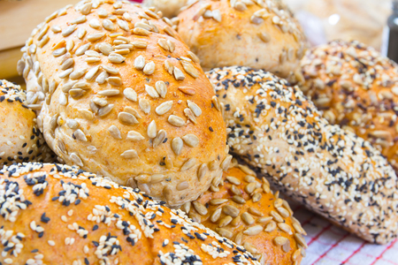 whole grain: Bread made from whole grain