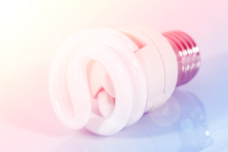 electric bulb: Electric bulb with color filters
