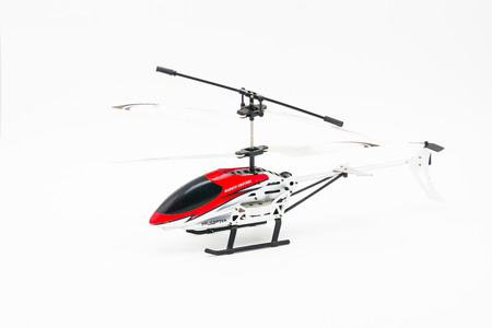 helicopter on white background