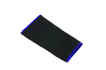 neoprene: knee support on a white background