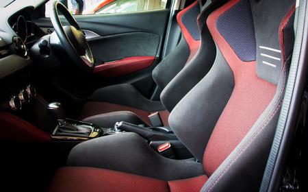 sumptuous: interior car Stock Photo