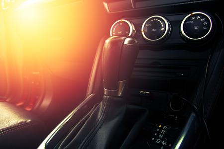 Luxury Car Interior -Gear shift handle