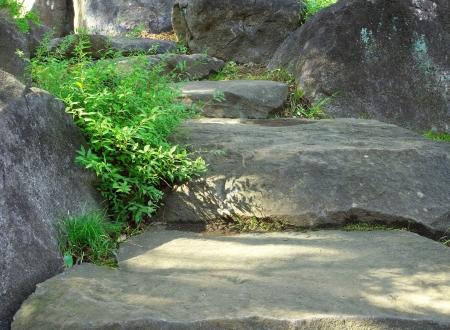 Sentier de pierre