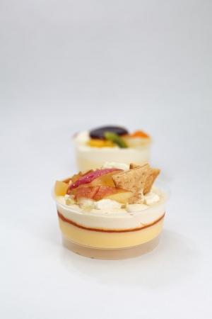Fruit pudding Stock Photo - 16137369