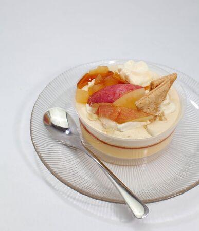 Fruit pudding Stock Photo - 16137355