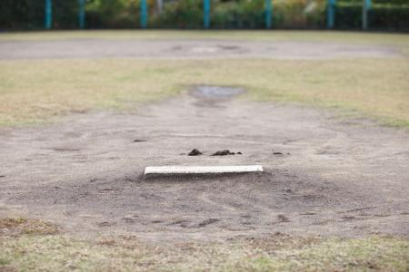 Baseball Pitching mound Stock Photo - 16265567
