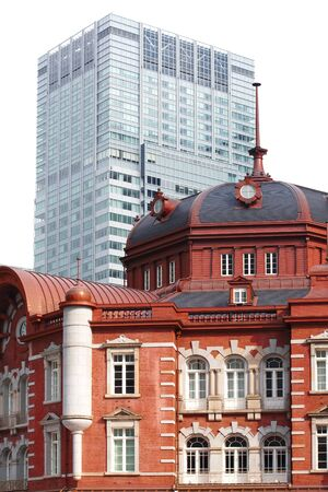 renovated: Renovated Tokyo Station in Japan