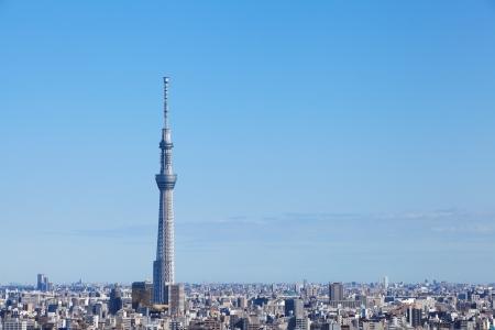 Tokyo uitzicht op de stad