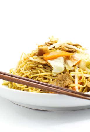 yakisoba: Japanese stir-fried noodles , Yakisoba