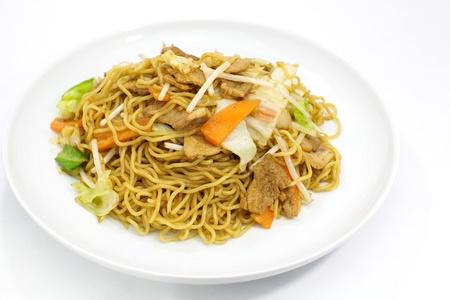 Japanese stir-fried noodles , Yakisoba