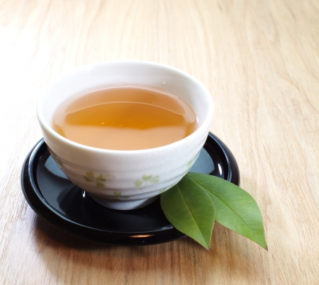 darjeeling: Green tea Stock Photo
