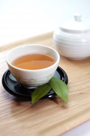 assam tea: Green tea Stock Photo