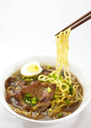 Japon�s fideos, Ramen photo