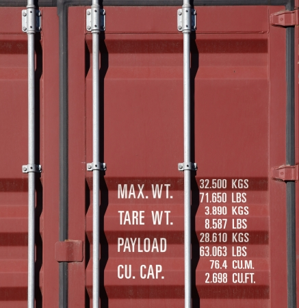 Container truck photo