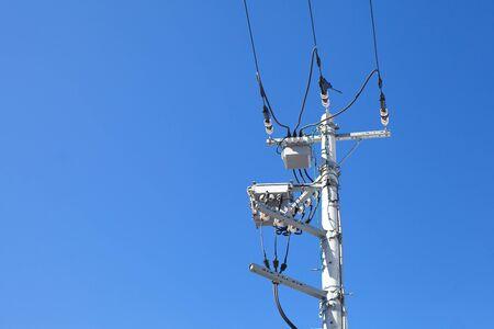 Electric pole Stock Photo - 17478621