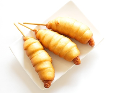 quick snack: Corn Hot Dogs