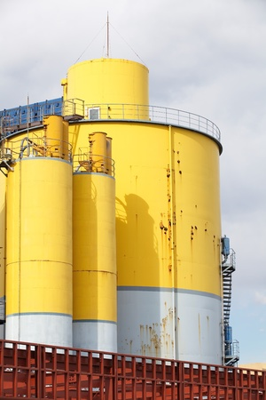 Refinery factory Stock Photo - 17522957