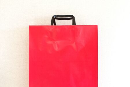 Red Sale Bag over White photo