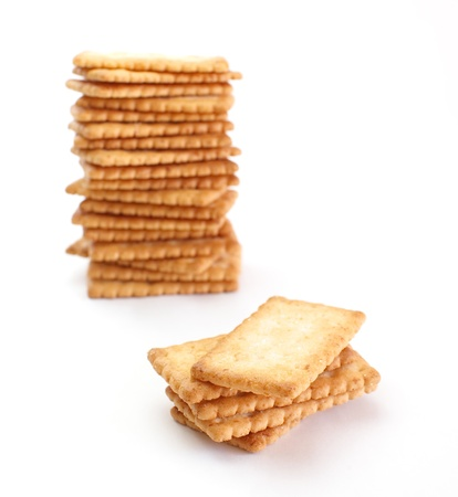 Salty Crackers  Stock Photo - 17636456