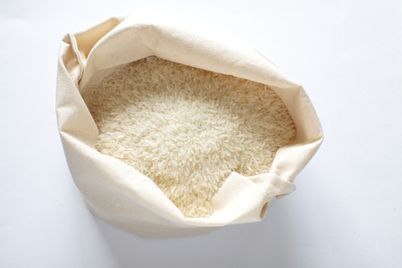 Uncooked white rice Stock Photo - 17663243
